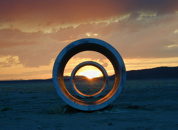 nancy holt the land art goddess culturehe art s On what is a sun tunnel
